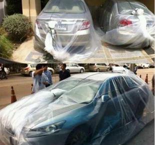 最新进口汽车防水袋/雨衣/保护罩/防沙尘/可批发/保隐私