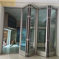 墨高门窗供应新颖实用50隐藏合页折叠门视野更宽阔