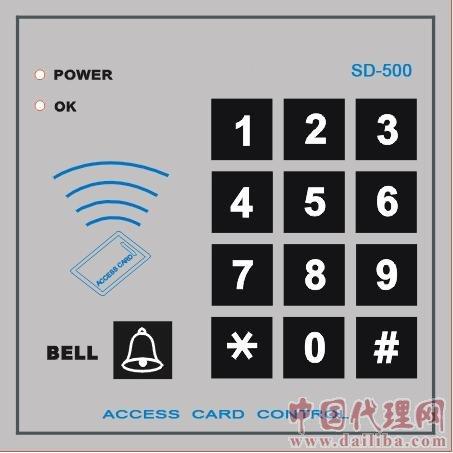 代理沈阳SD-500单门门禁控制器 门禁一体机