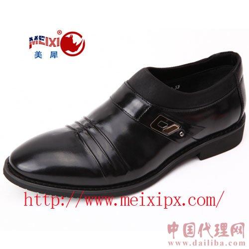 美国犀牛代理加盟 2011秋冬季新款 皮鞋批发 皮鞋工厂 时尚舒适